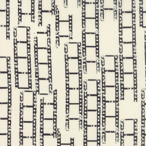 Moda - Reel Time - Film Strips (Chalk/Ink) Fabric